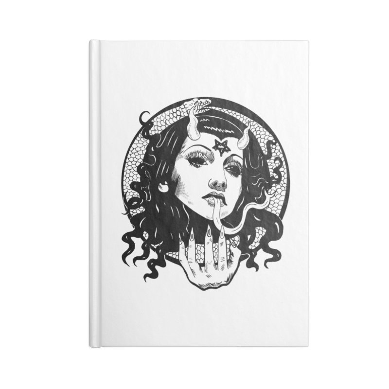 OMEN TEE Accessories Notebook by Hate Baby Comix Artist Shop