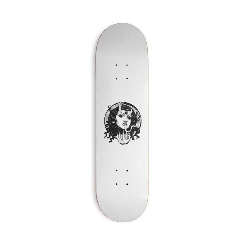 OMEN TEE Accessories Skateboard by Hate Baby Comix Artist Shop