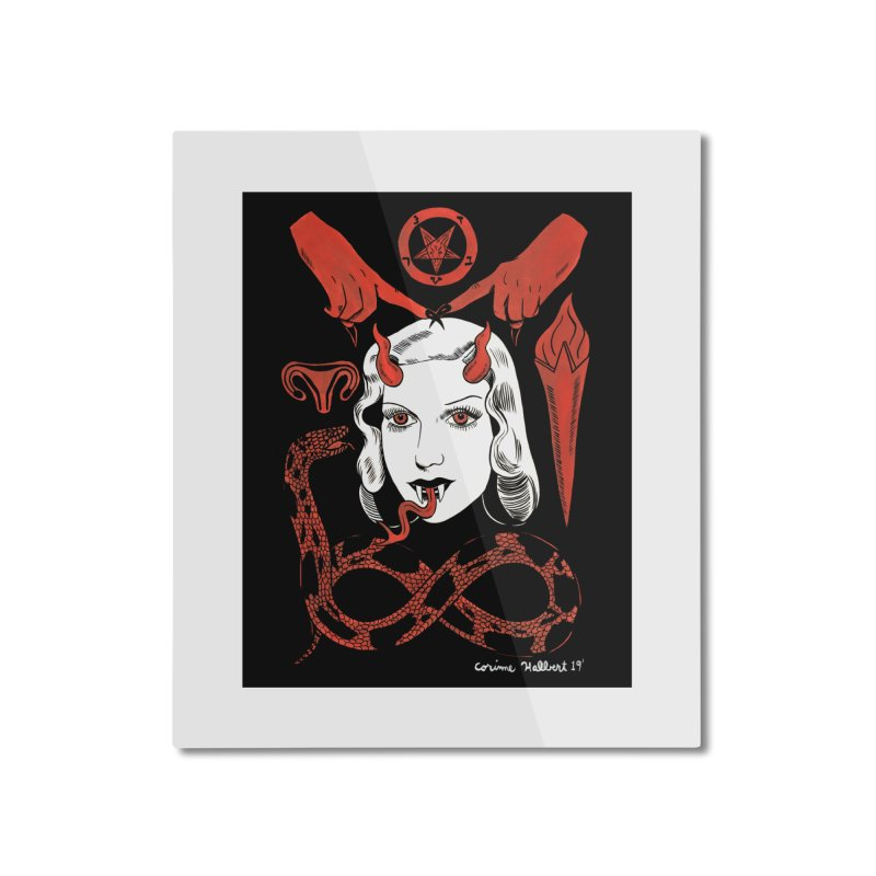 INFINITY PRINT Home Mounted Aluminum Print by Hate Baby Comix Artist Shop