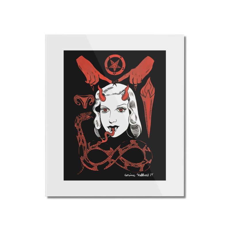 INFINITY PRINT Home Mounted Acrylic Print by Hate Baby Comix Artist Shop