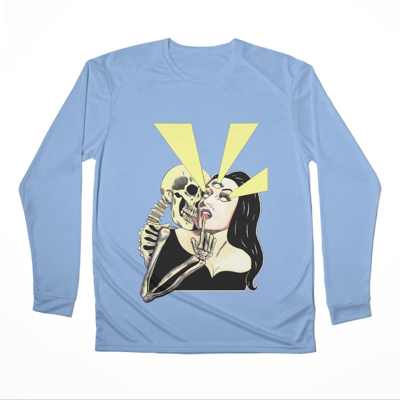 UNHOLY GHOSTS Women's Longsleeve T-Shirt by Hate Baby Comix Artist Shop