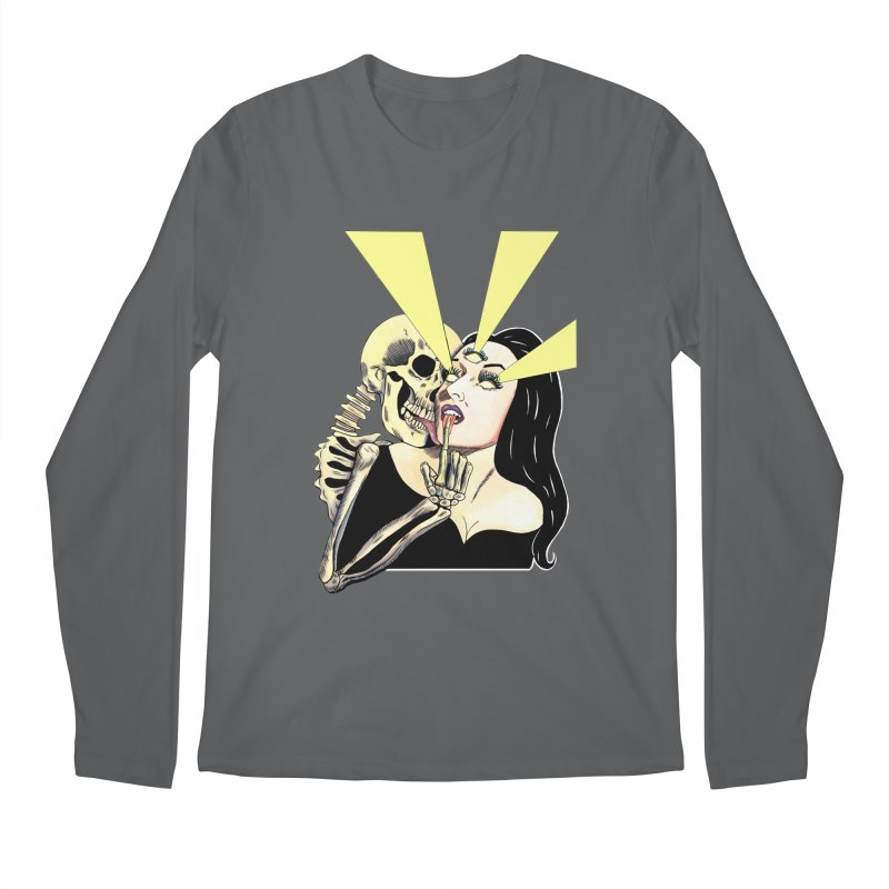 UNHOLY GHOSTS Men's Longsleeve T-Shirt by Hate Baby Comix Artist Shop