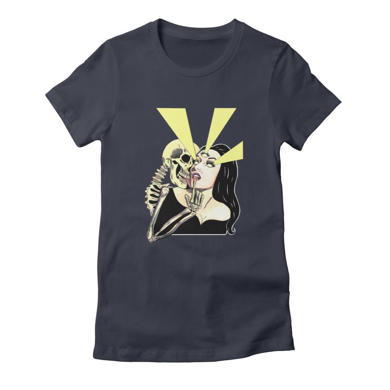 UNHOLY GHOSTS Women's T-Shirt by Hate Baby Comix Artist Shop