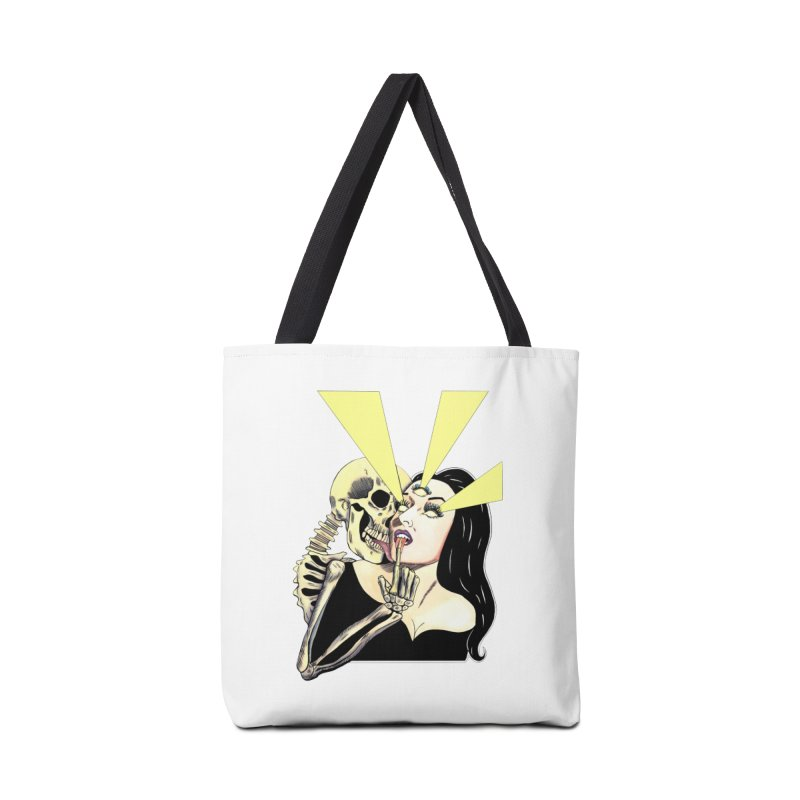 UNHOLY GHOSTS Accessories Bag by Hate Baby Comix Artist Shop