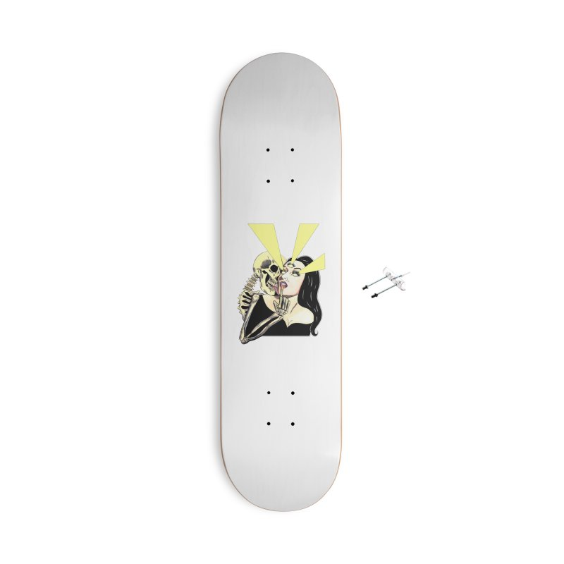 UNHOLY GHOSTS Accessories Skateboard by Hate Baby Comix Artist Shop