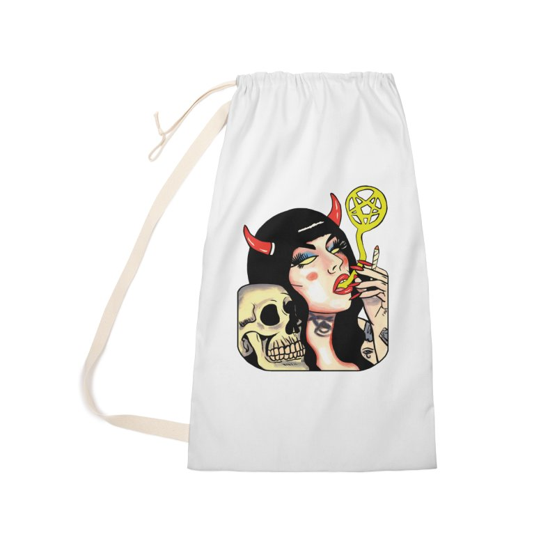 DEVIL BABE Accessories Bag by Hate Baby Comix Artist Shop