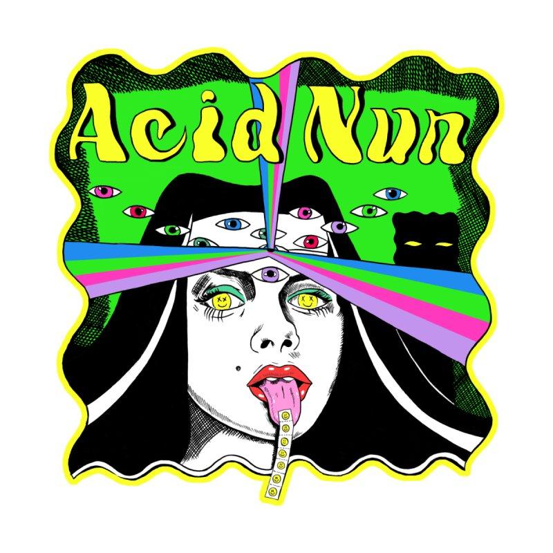 ACID NUN! Women's T-Shirt by Hate Baby Comix Artist Shop