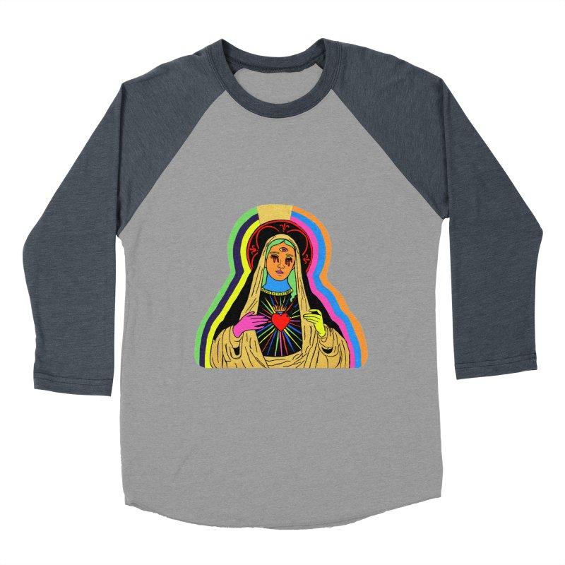 Hail Mary Men's Baseball Triblend Longsleeve T-Shirt by Hate Baby Artist Shop