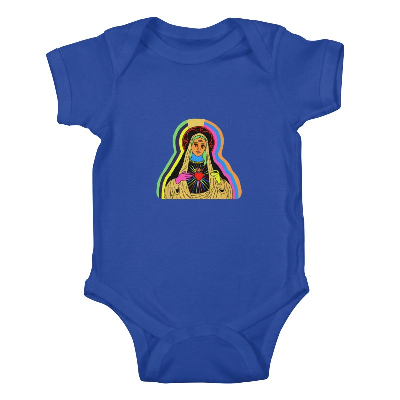 HAIL MARY Kids Baby Bodysuit by Hate Baby Comix Artist Shop
