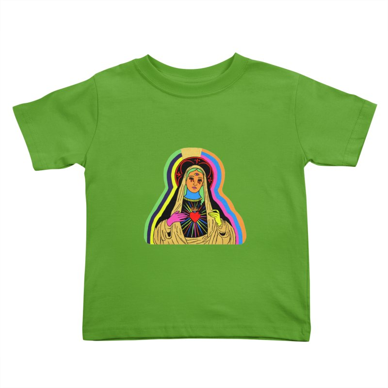 HAIL MARY Kids Toddler T-Shirt by Hate Baby Comix Artist Shop