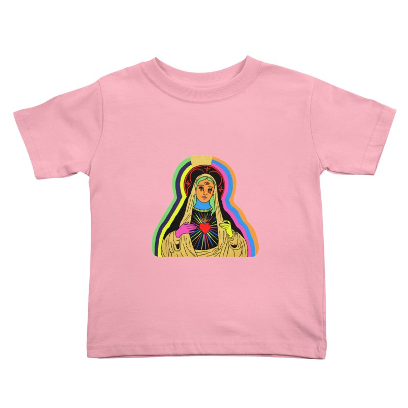 Hail Mary Kids Toddler T-Shirt by Hate Baby Artist Shop