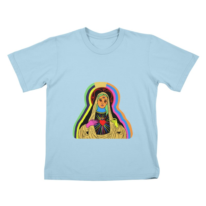HAIL MARY Kids T-Shirt by Hate Baby Comix Artist Shop
