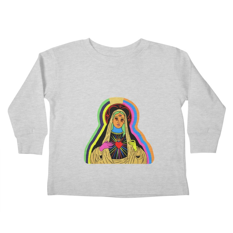 HAIL MARY Kids Toddler Longsleeve T-Shirt by Hate Baby Comix Artist Shop