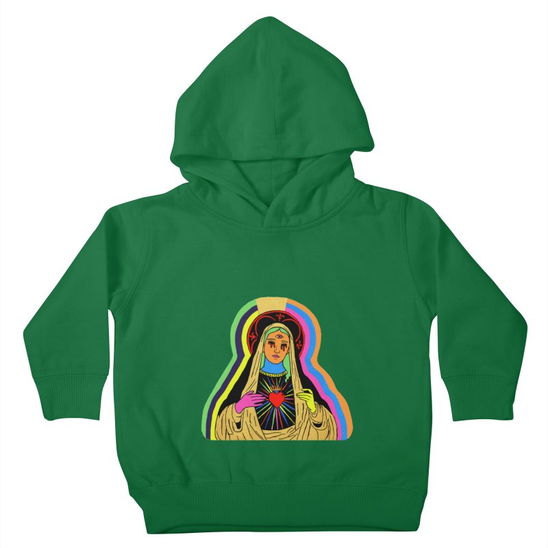 HAIL MARY Kids Toddler Pullover Hoody by Hate Baby Comix Artist Shop