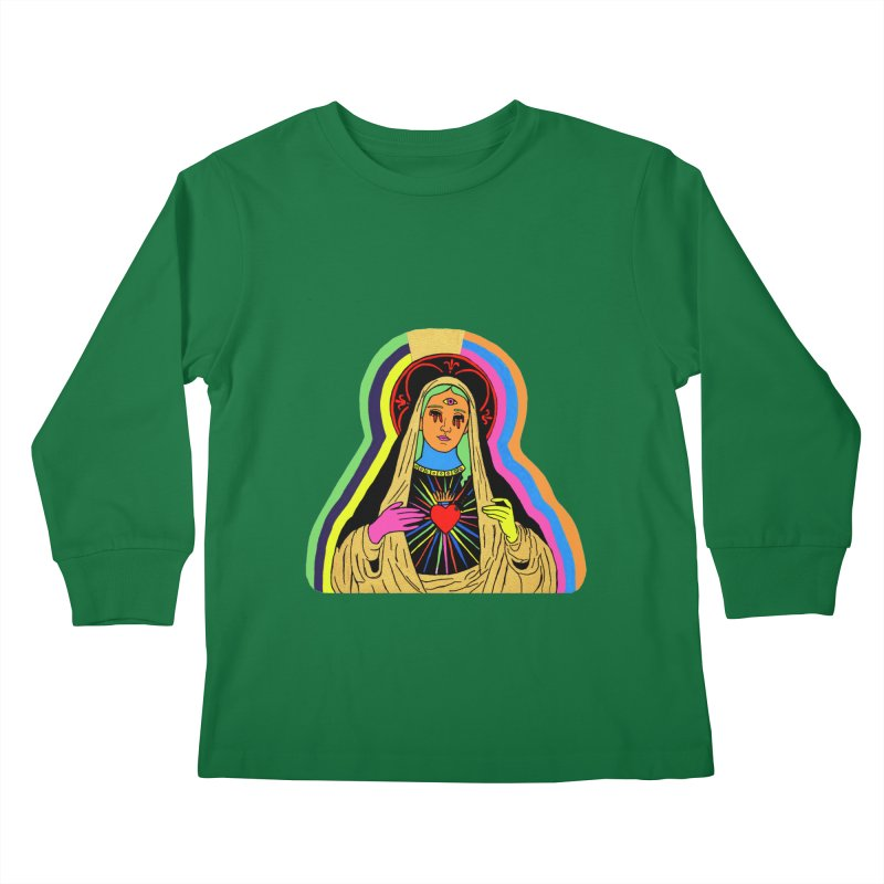 HAIL MARY Kids Longsleeve T-Shirt by Hate Baby Comix Artist Shop