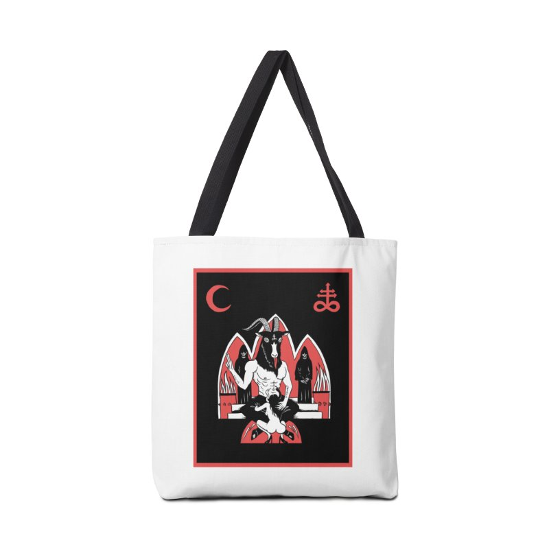 HAIL SATAN Accessories Tote Bag Bag by Hate Baby Comix Artist Shop