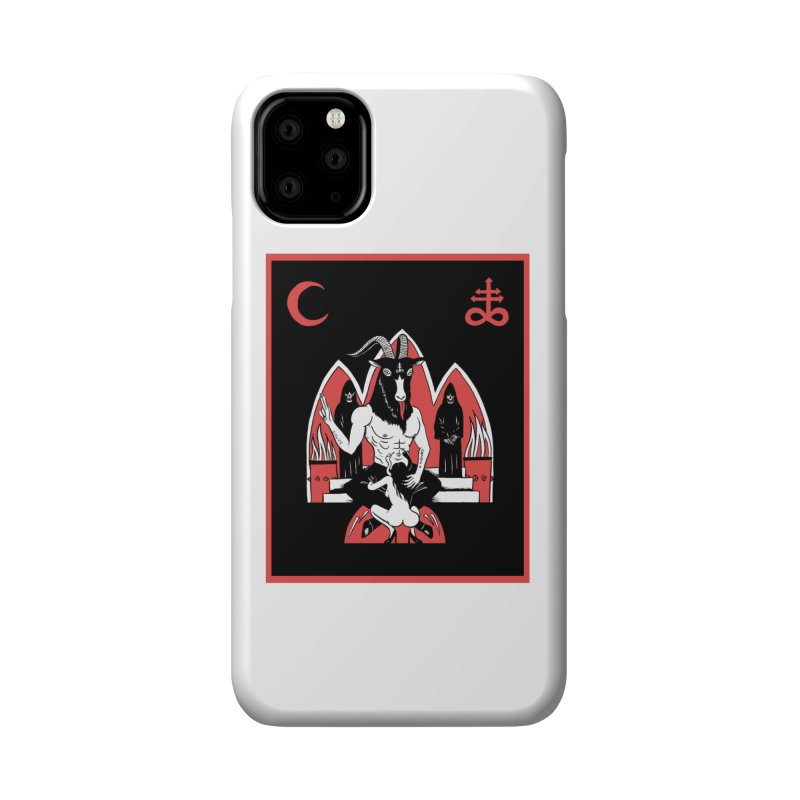 HAIL SATAN Accessories Phone Case by Hate Baby Comix Artist Shop