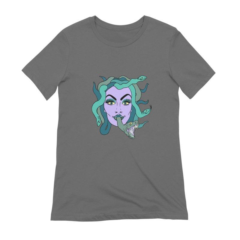 MEDUSA Women's T-Shirt by Hate Baby Comix Artist Shop