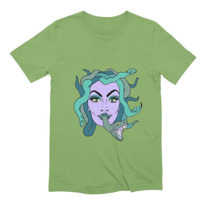 MEDUSA Men's Extra Soft T-Shirt by Hate Baby Comix Artist Shop