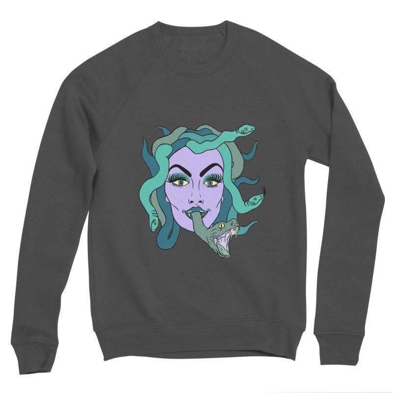 MEDUSA Men's Sponge Fleece Sweatshirt by Hate Baby Comix Artist Shop