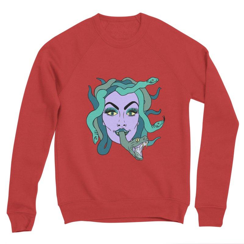MEDUSA Women's Sponge Fleece Sweatshirt by Hate Baby Comix Artist Shop