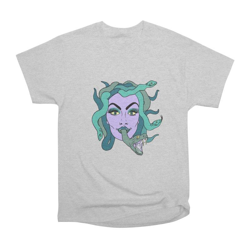 MEDUSA Women's Heavyweight Unisex T-Shirt by Hate Baby Comix Artist Shop