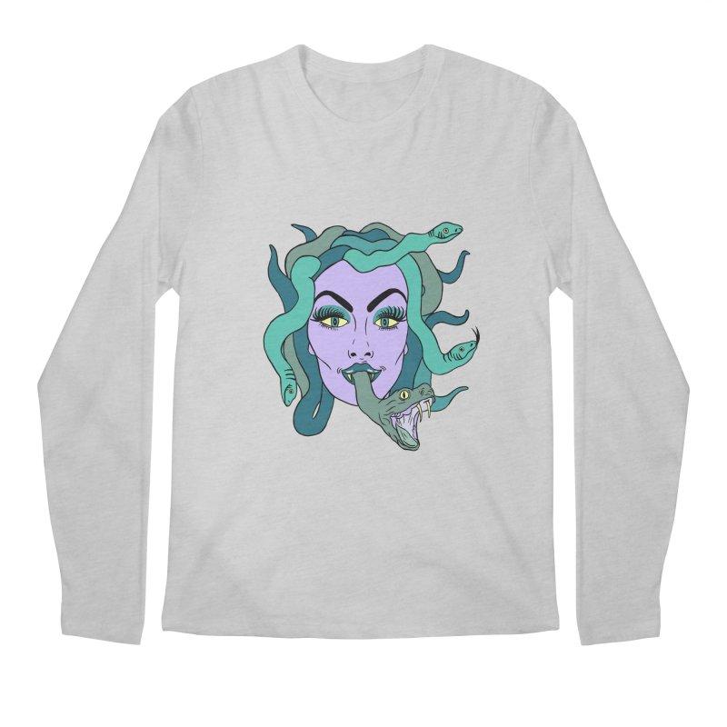 MEDUSA Men's Regular Longsleeve T-Shirt by Hate Baby Comix Artist Shop