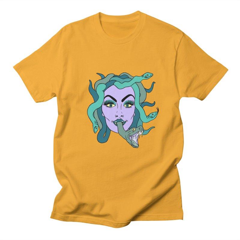 MEDUSA Men's Regular T-Shirt by Hate Baby Comix Artist Shop