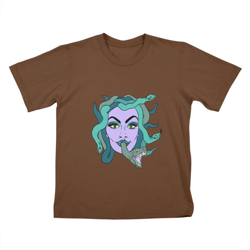 MEDUSA Kids T-Shirt by Hate Baby Comix Artist Shop