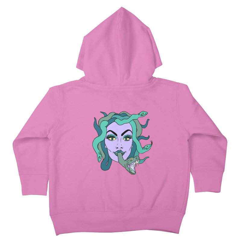 MEDUSA Kids Toddler Zip-Up Hoody by Hate Baby Comix Artist Shop