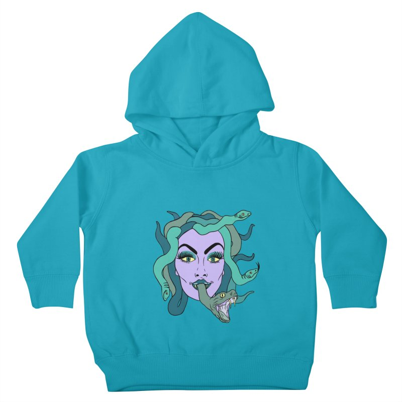 MEDUSA Kids Toddler Pullover Hoody by Hate Baby Comix Artist Shop