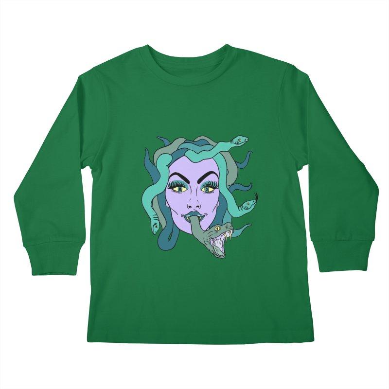 MEDUSA Kids Longsleeve T-Shirt by Hate Baby Comix Artist Shop
