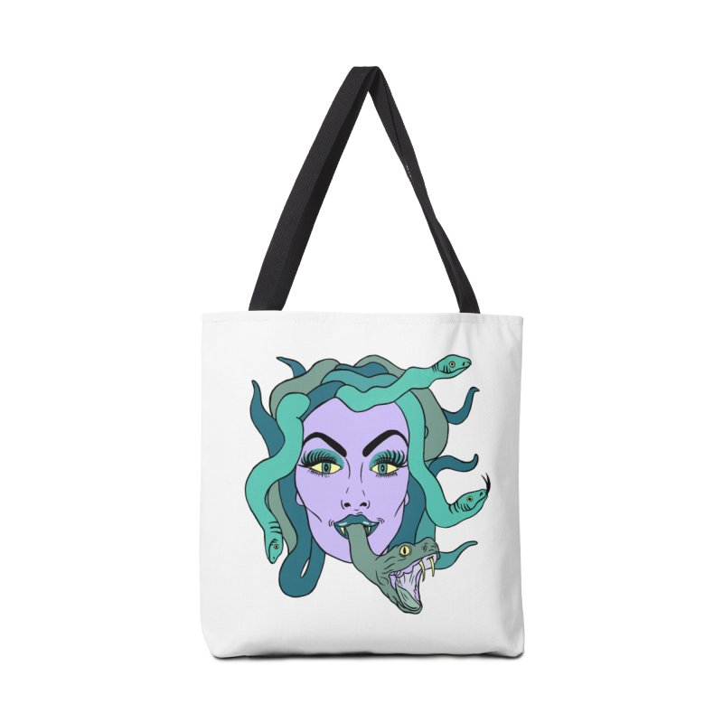 MEDUSA Accessories Tote Bag Bag by Hate Baby Comix Artist Shop