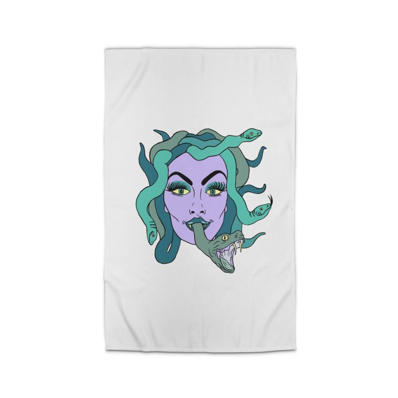 MEDUSA Home Rug by Hate Baby Comix Artist Shop