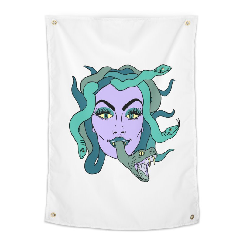 MEDUSA Home Tapestry by Hate Baby Comix Artist Shop