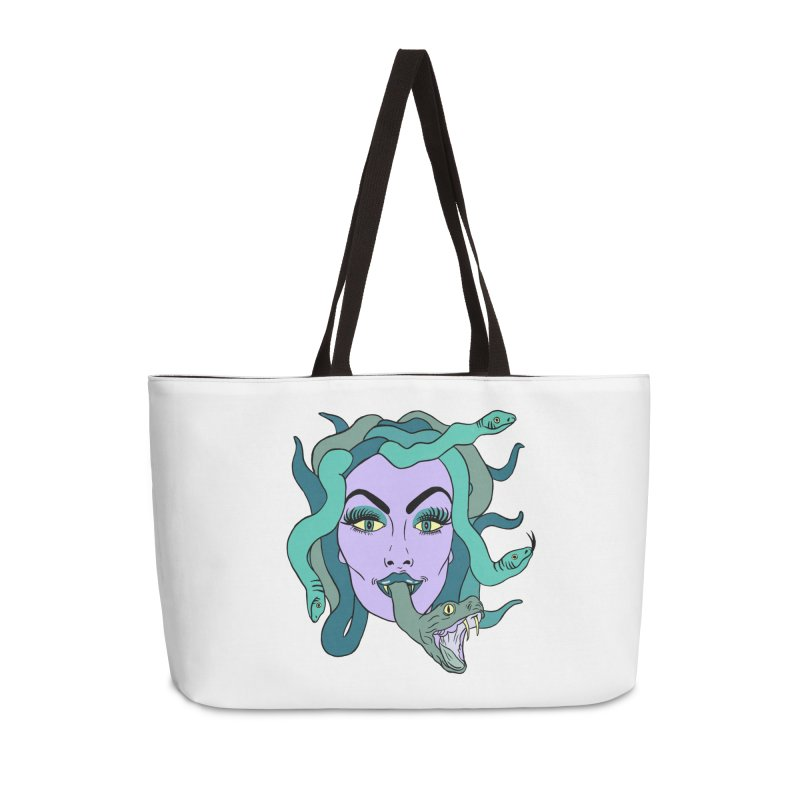 MEDUSA Accessories Weekender Bag Bag by Hate Baby Comix Artist Shop