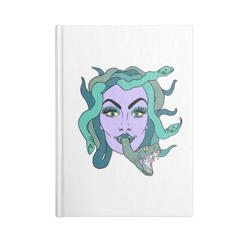 MEDUSA Accessories Lined Journal Notebook by Hate Baby Comix Artist Shop