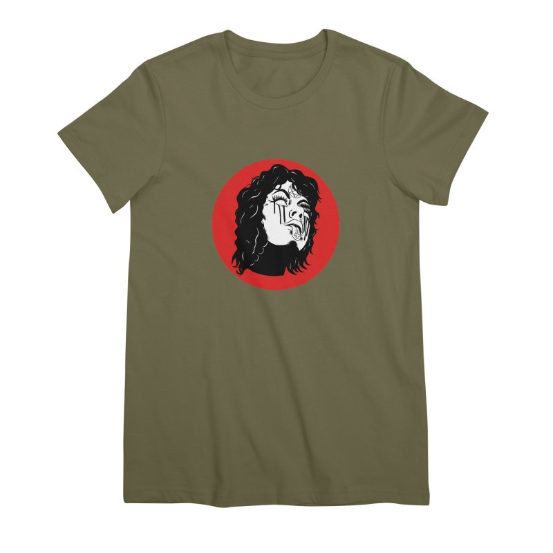 LUCIFER Women's Premium T-Shirt by Hate Baby Artist Shop