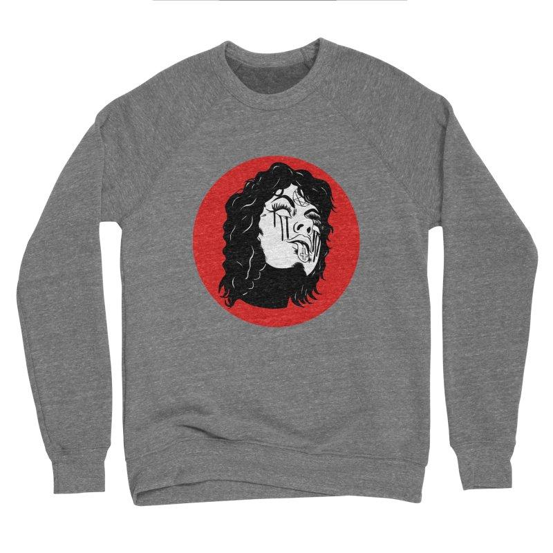 LUCIFER Men's Sponge Fleece Sweatshirt by Hate Baby Artist Shop