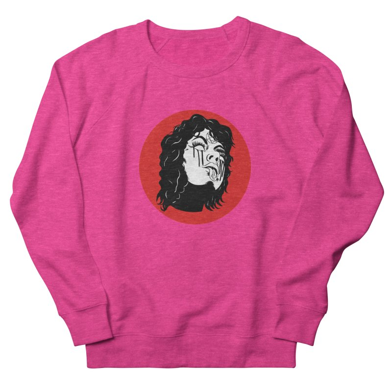 LUCIFER Men's French Terry Sweatshirt by Hate Baby Artist Shop