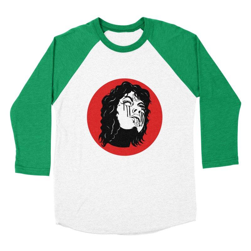 LUCIFER Men's Baseball Triblend Longsleeve T-Shirt by Hate Baby Artist Shop