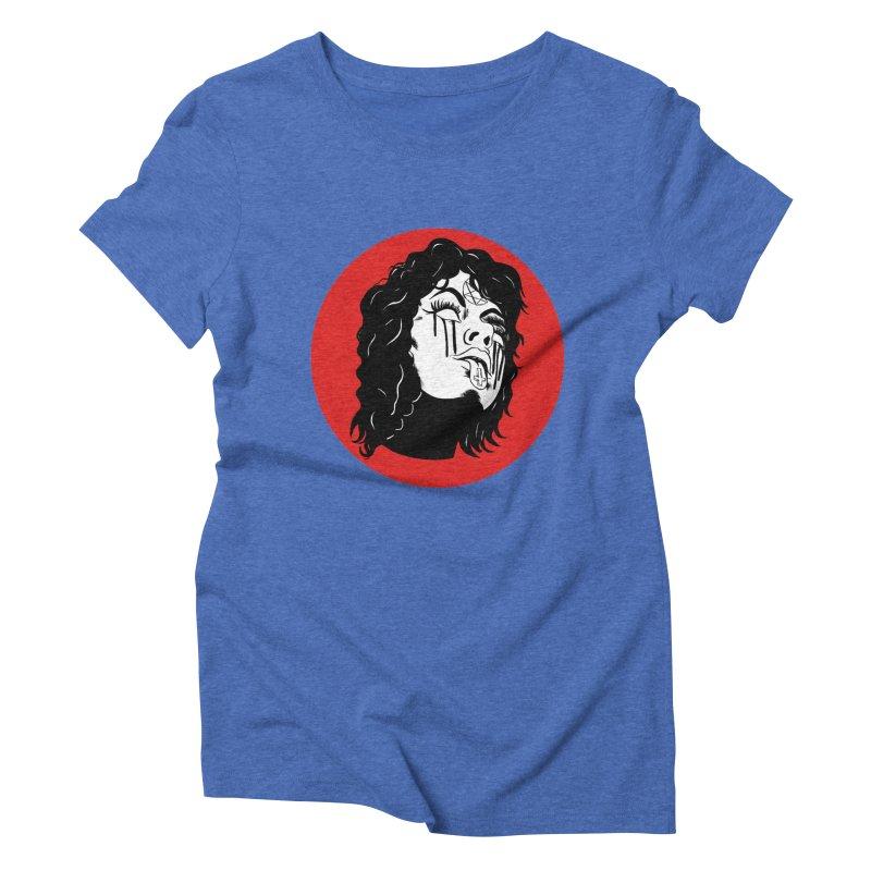 LUCIFER Women's Triblend T-Shirt by Hate Baby Artist Shop