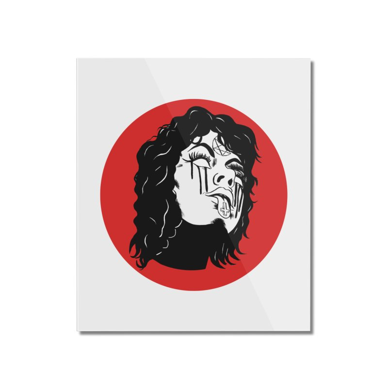 LUCIFER Home Mounted Acrylic Print by Hate Baby Artist Shop