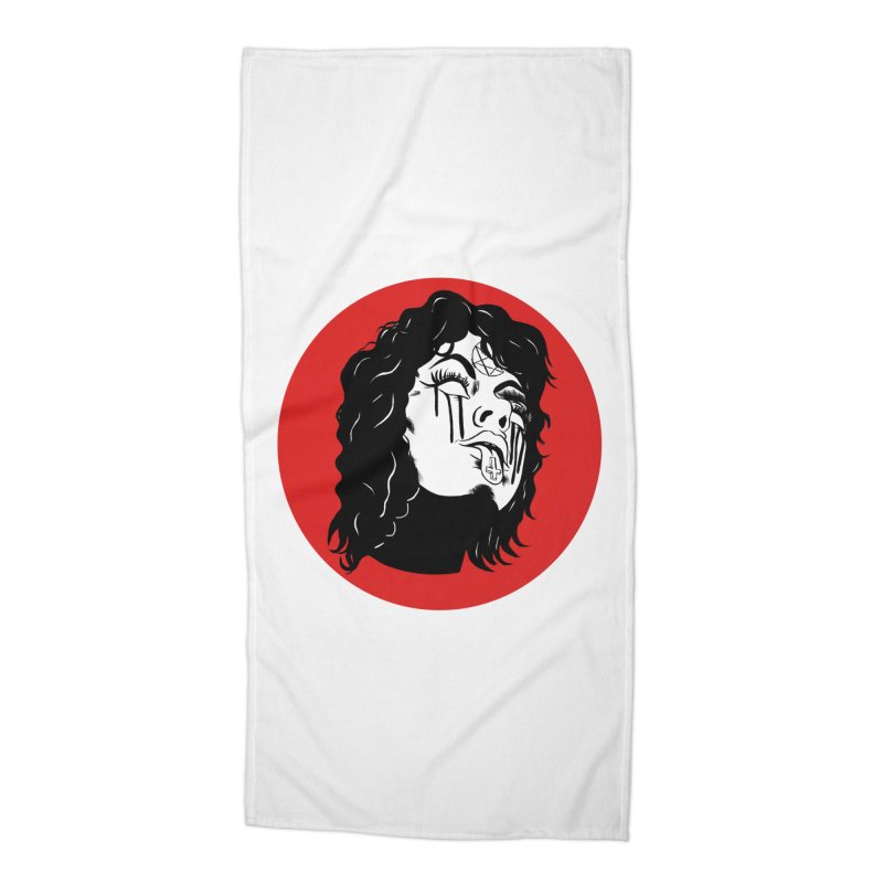LUCIFER Accessories Beach Towel by Hate Baby Artist Shop