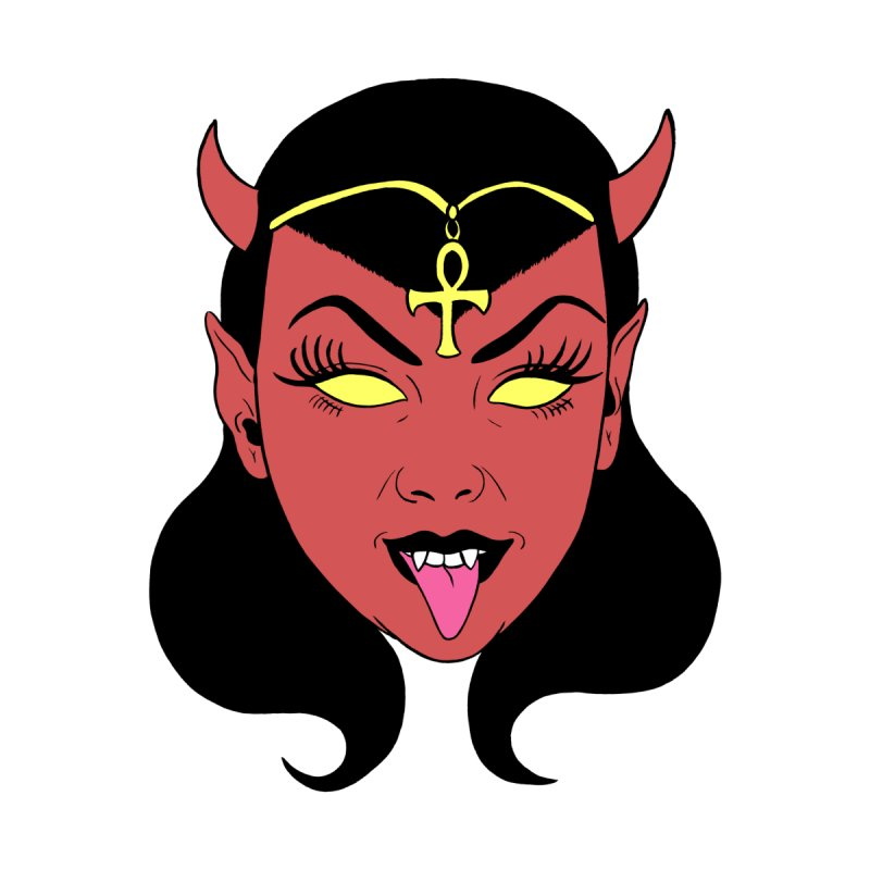 DEVIL GIRL Home Tapestry by Hate Baby Comix Artist Shop