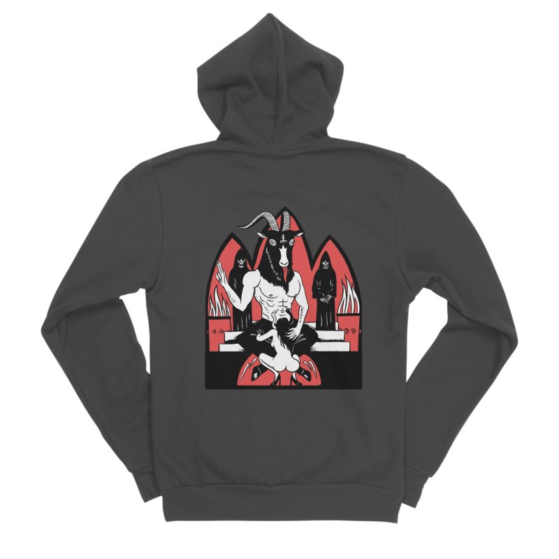 HAIL Men's Sponge Fleece Zip-Up Hoody by Hate Baby Comix Artist Shop