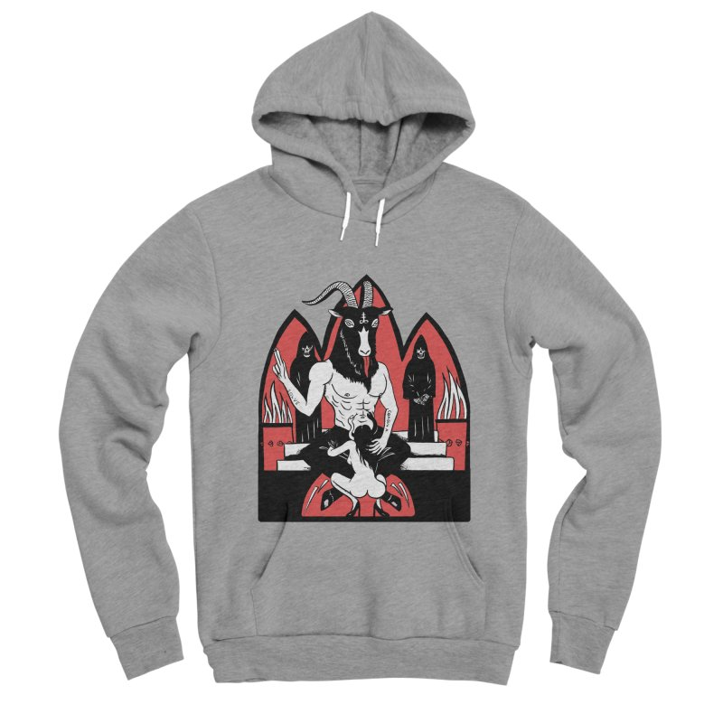 HAIL Men's Sponge Fleece Pullover Hoody by Hate Baby Comix Artist Shop