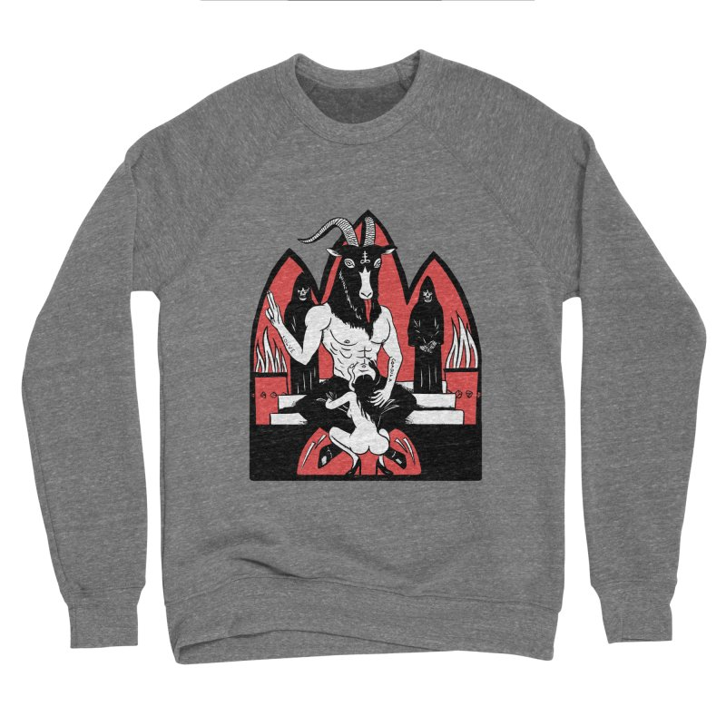 HAIL Men's Sponge Fleece Sweatshirt by Hate Baby Comix Artist Shop