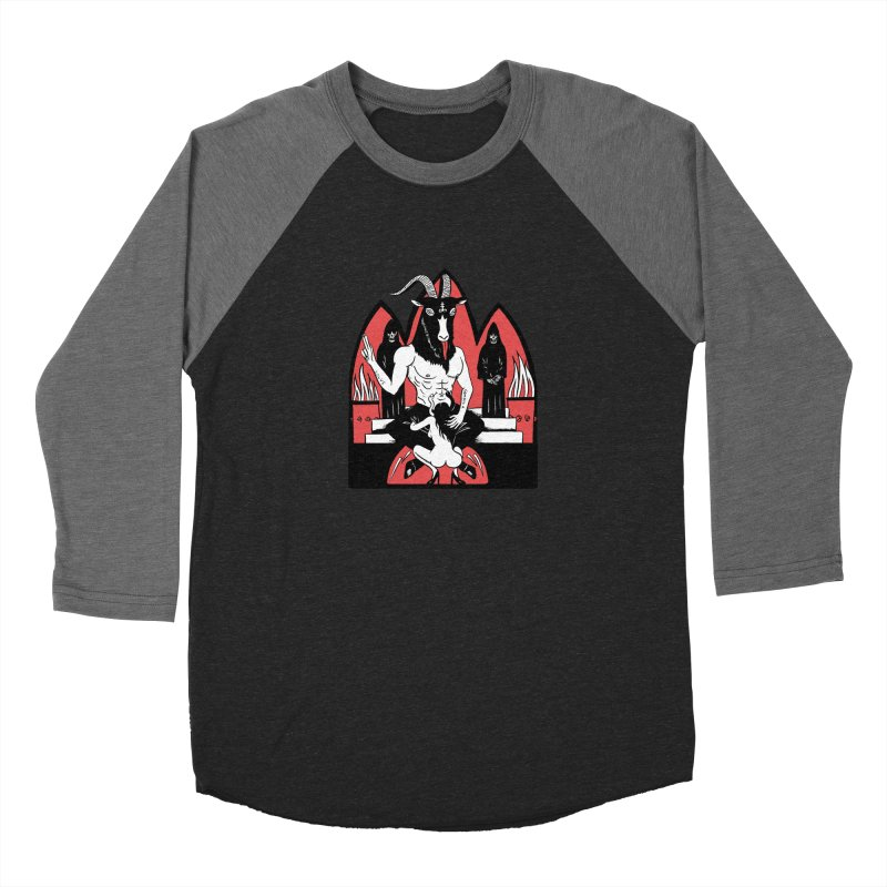 HAIL Women's Baseball Triblend Longsleeve T-Shirt by Hate Baby Comix Artist Shop