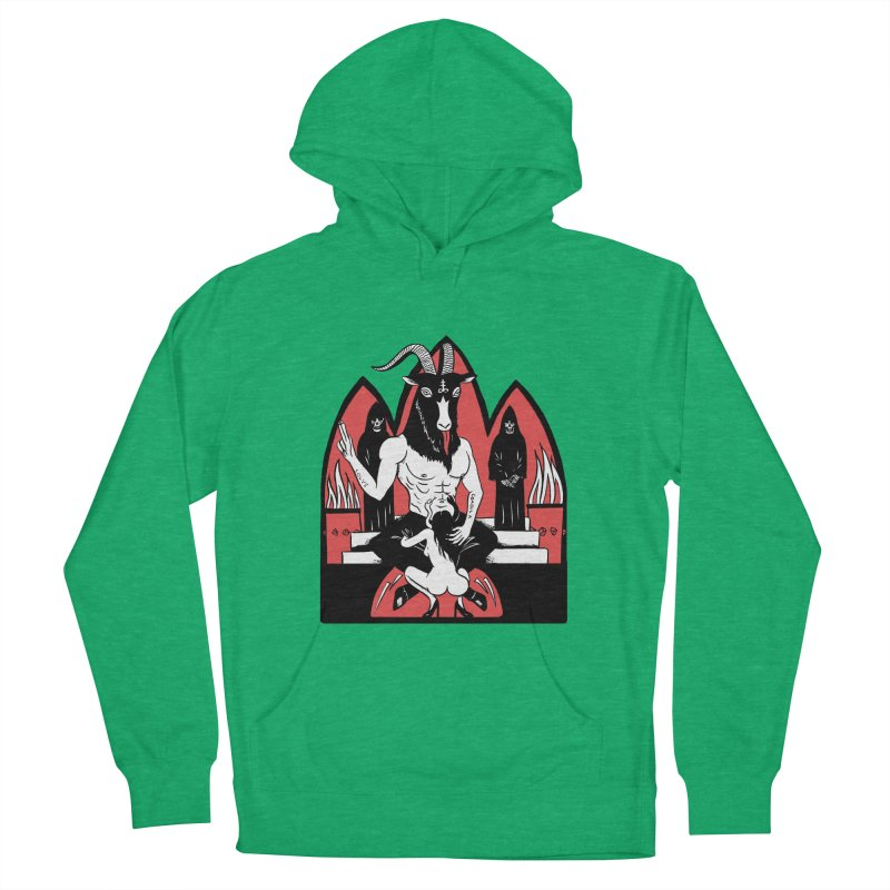 HAIL Men's French Terry Pullover Hoody by Hate Baby Comix Artist Shop